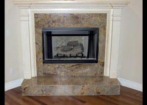Fireplace Backsplash