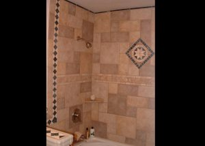 Marble and Granite Bathroom Showers