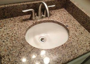 Marble and Granite Bathroom Vanities